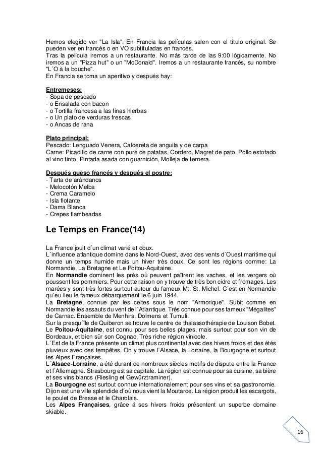 """16 Hemos elegido ver """"La Isla"""". En Francia las películas salen con el título original. Se pueden ver en francés o en VO su..."""
