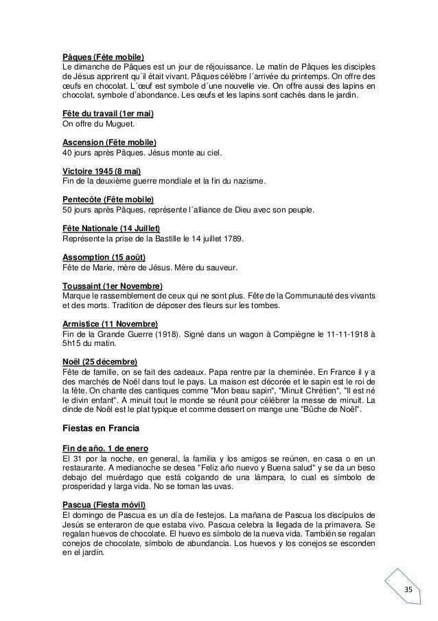 Lecturas français
