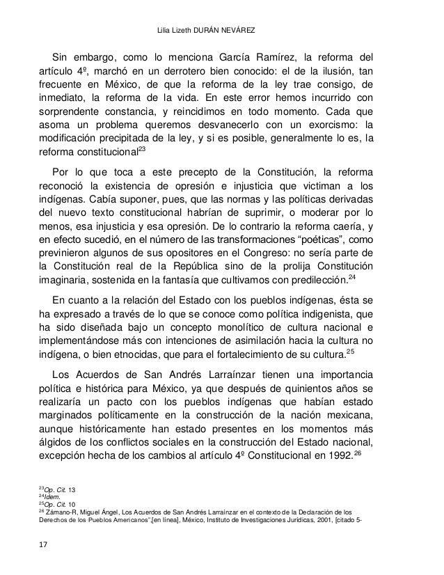 EL DERECHO INDÍGENA EN MÉXICO A PARTIR DE LA INDEPENDENCIA 18 En el proceso de la Revolución Mexicana, tan heterogéneo, es...