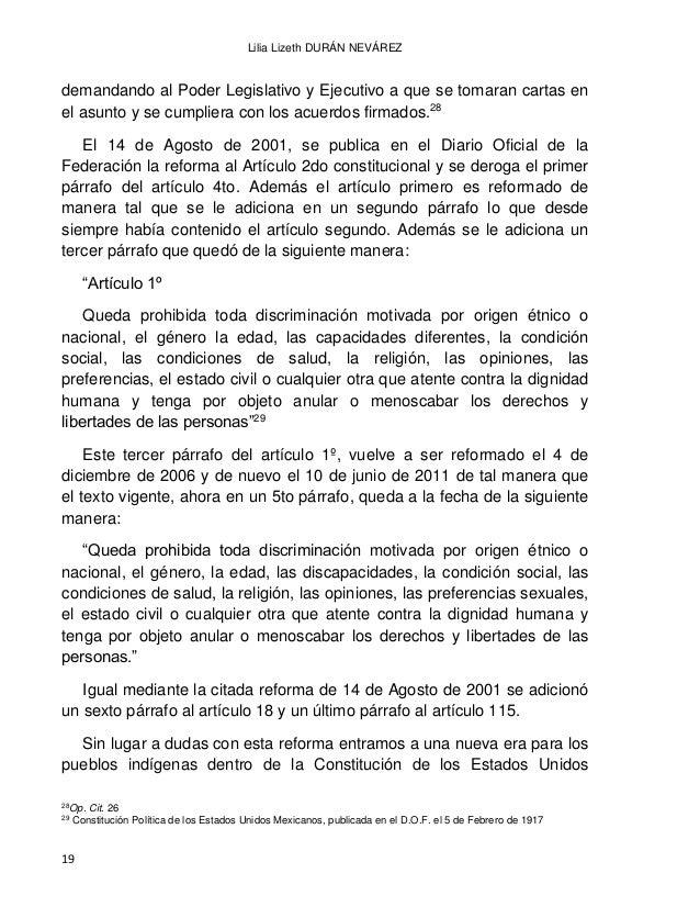 EL DERECHO INDÍGENA EN MÉXICO A PARTIR DE LA INDEPENDENCIA 20 Mexicanos, pues después de que los indígenas no son menciona...