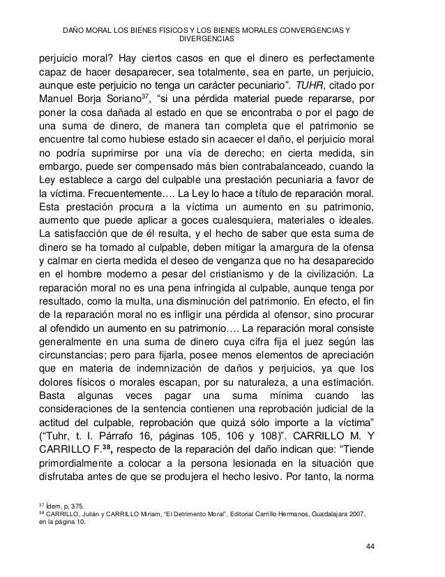 Jesús Javier HERRERA GÓMEZ 45 jurídica ordena que aquella situación que le fue perturbada, sea restablecida mediante la re...