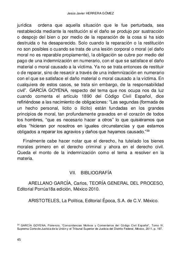 DAÑO MORAL LOS BIENES FISICOS Y LOS BIENES MORALES CONVERGENCIAS Y DIVERGENCIAS 46 BIX, Brian H., Filosofía del Derecho: U...