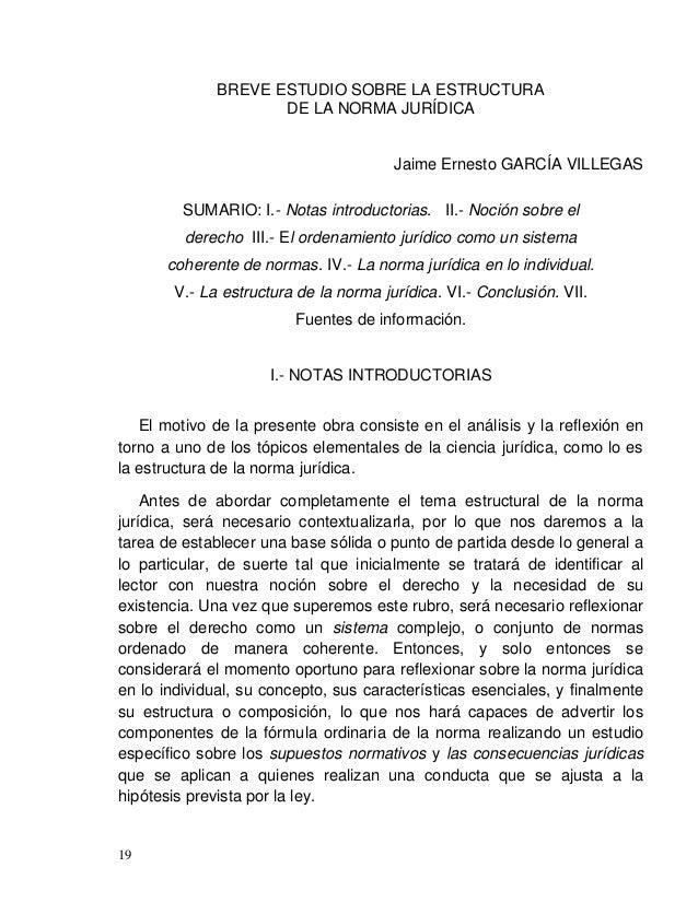 Jaime Ernesto GARCÍA VILLEGAS 21 Independientemente de la definición que cada uno de los juristas prefiera utilizar, el qu...