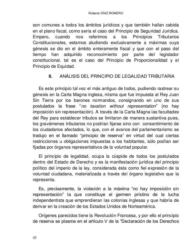 Roberto DÍAZ ROMERO 47 procedimiento y conforme a las leyes expedidas con anterioridad al hecho. El artículo 72, inciso h)...