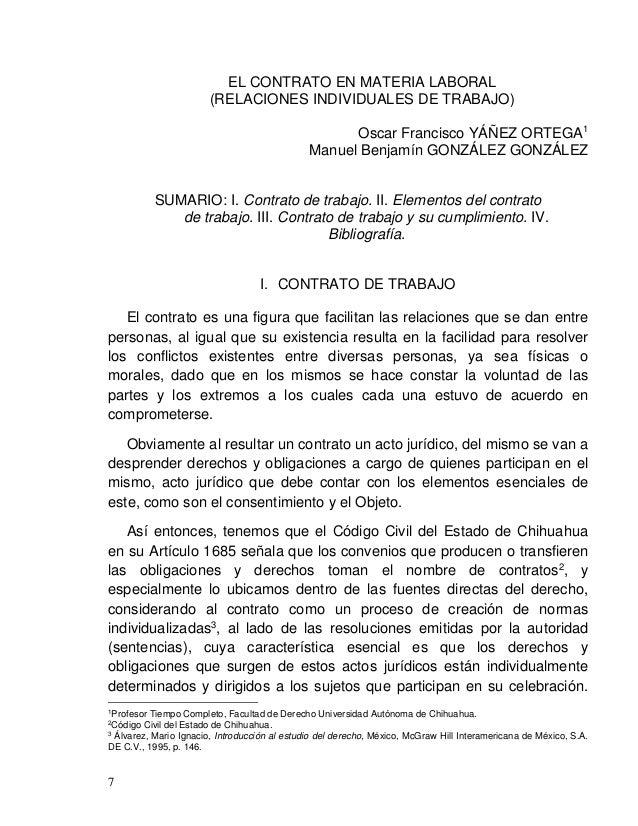 Oscar Francisco YÁÑEZ ORTEGA Manuel Benjamín GONZÁLEZ GONZÁLEZ 9 generador y organizador de la relación laboral, aun y cua...