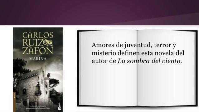 Amores de juventud, terror y  misterio definen esta novela del  autor de La sombra del viento.