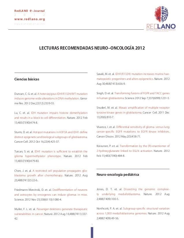 1RedLANO e–Journal2 0 1 2www.redlano.org( E p u b a h e a d o f p r i n t )Ciencias básicasDuncan, C. G. et. al. A heteroz...