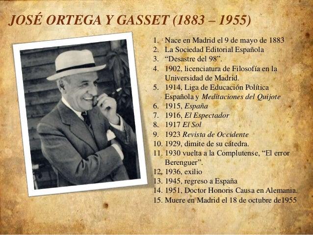 Ortega y gasset meditaciones del quijote
