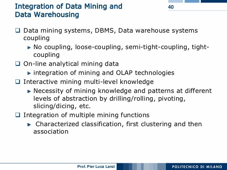 Lecture 01 Data Mining
