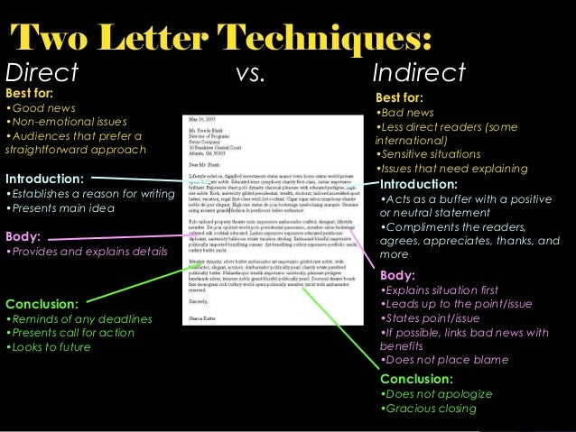 Lecture 05 types of business letter four types of business letters 3 spiritdancerdesigns Image collections
