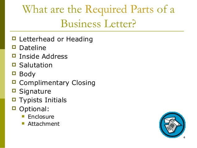 Lecture 05 Writing A Business Letter