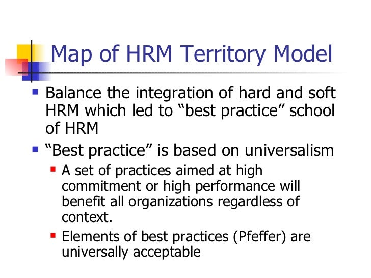 best practice approach hrm How do the best fit and the best practice approaches in hrm create a competitive advantage update cancel ad by better buys palgrave macmillan, which criticizes the best fit approach.
