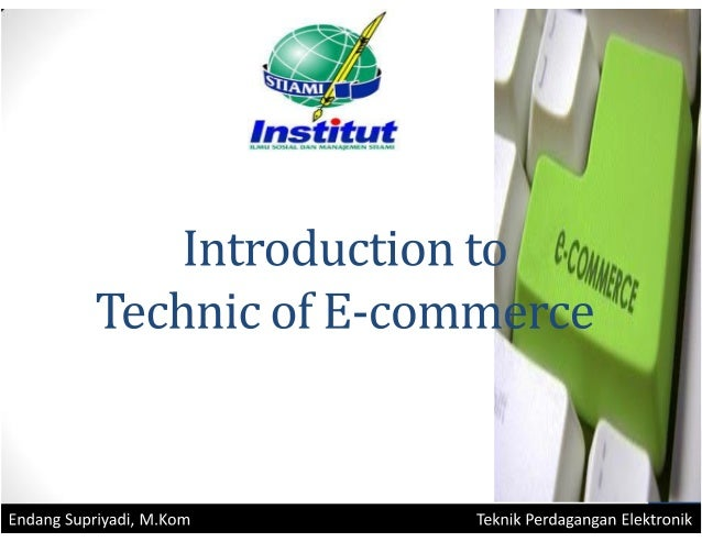 Lecture 1-introduction technic of e-commerce