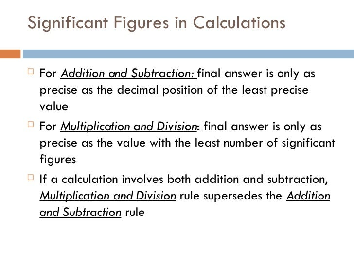 Lecture 1 Significant Figures, Scientific Notation, Significant Fig…