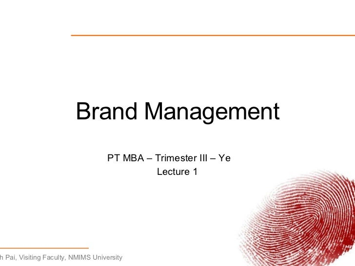 brand management lecture 1 Resscom - 1 brands and brand management 2 identifying and establishing  lecture 1 brand management jack buckner umbrella brand strategy brand products or.