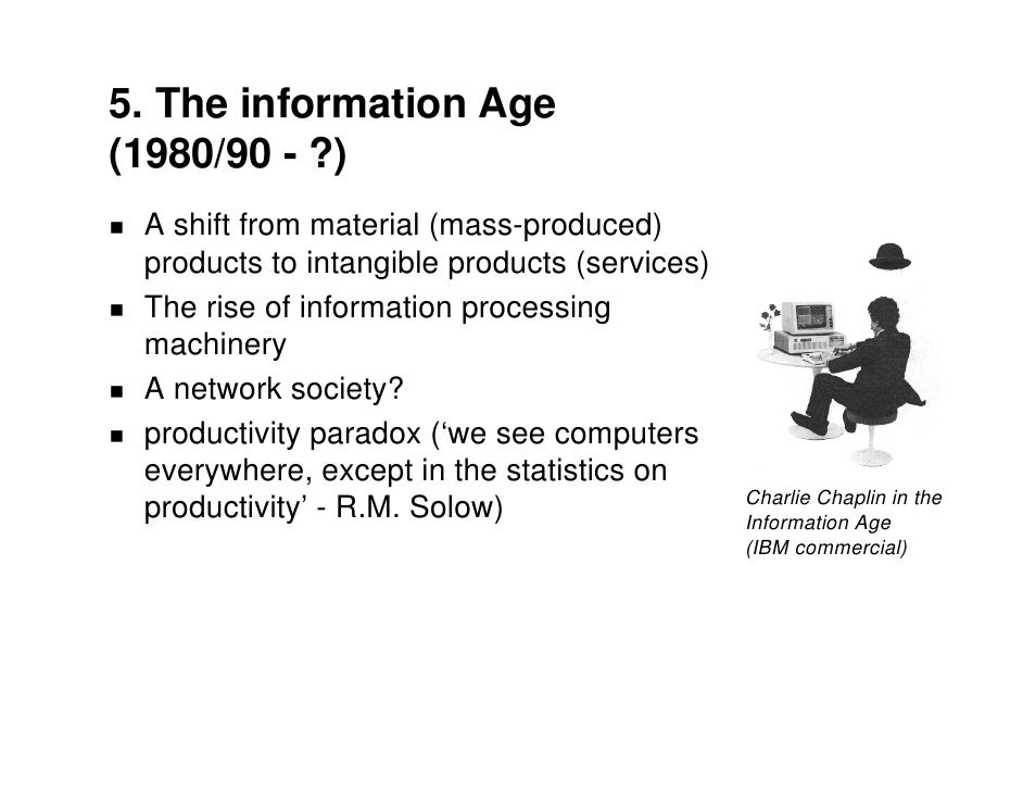 changes in computer technology and its effects on economy These developments changed the world and how we interact with it but how do  innovations from technology companies affect the economy.