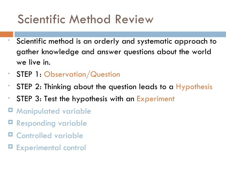 """chemistry 1 03 scientific method The traditional approach to experimentation, often referred to as the """"scientific  method,"""" requires changing only one factor at a time (ofat), but."""