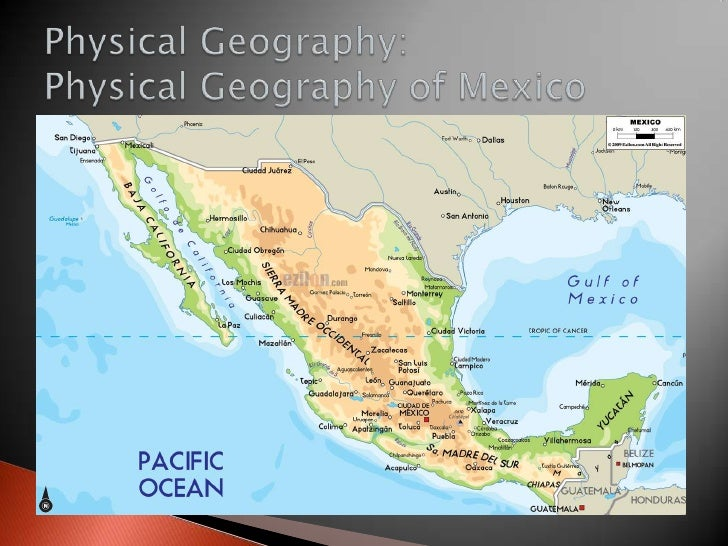 Geography: Geography of Central America and the Caribbean