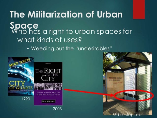 Lacc urban geography lecture - William whyte the social life of small urban spaces model ...