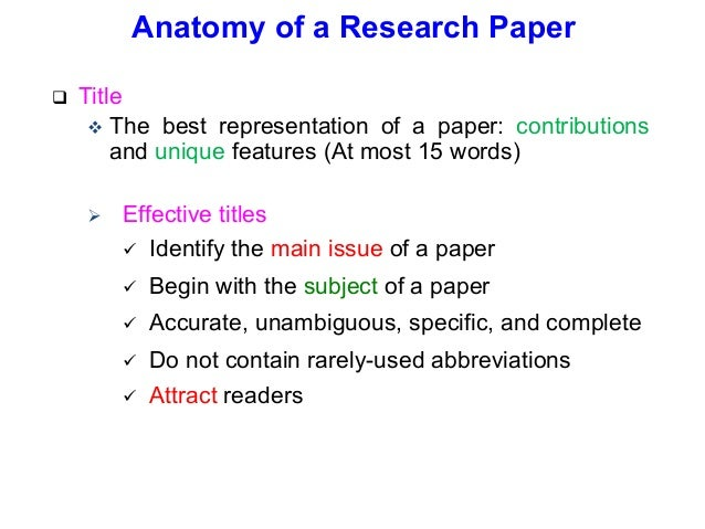using abbreviations in research papers