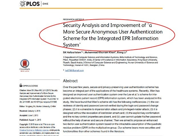 computer security research paper The second essay in the update to the 1999 cica and aicpa research report on continuous auditing this paper is published by this paper is published by the aipa assurance services executive ommittee's emerging assurance technologies task force with the intent of offering.