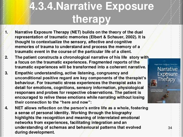 hospital exposure narrative report Narrative exposure therapy adapting narrative exposure therapy for chinese earthquake survivors: a pilot randomised controlled feasibility study in the last session, the participants in the net group received a written report of the narrative.