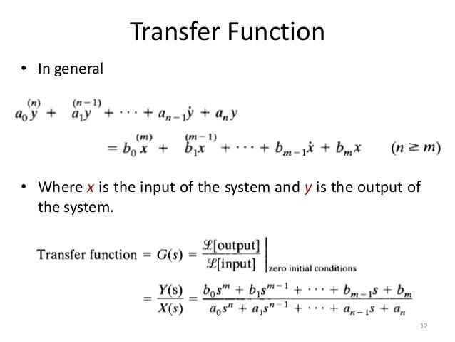 FIR transfer function