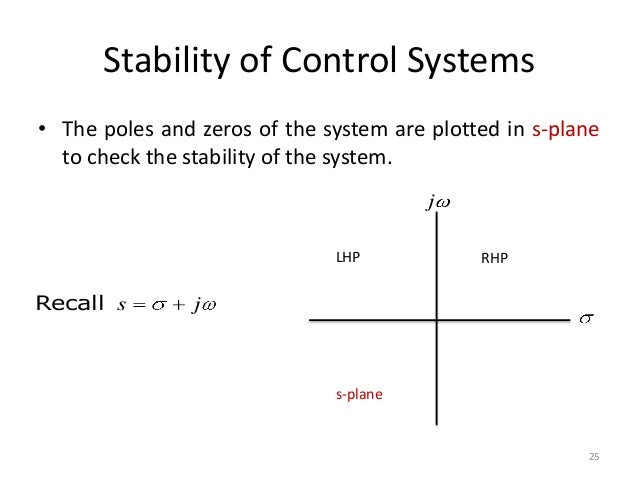 Lecture 2 transfer function stability of control systems the poles and zeros ccuart Image collections