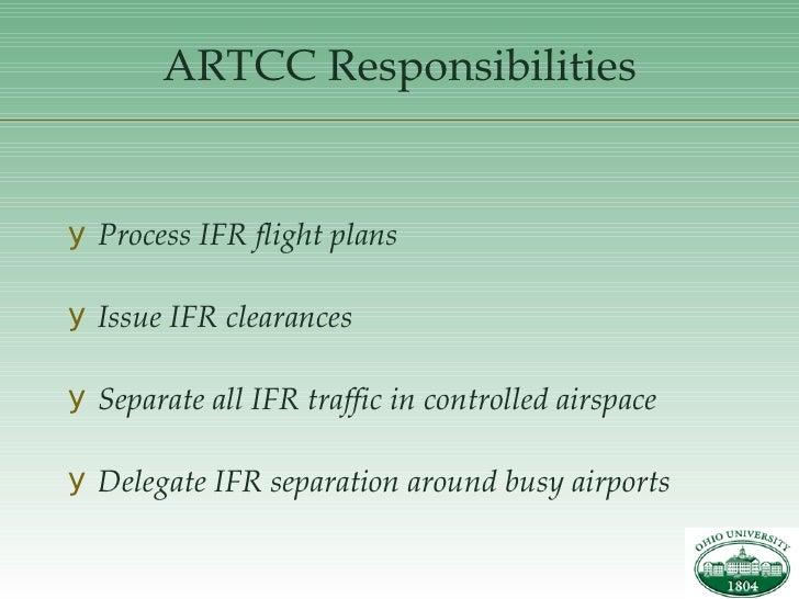 artcc responsibilities