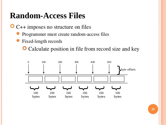 What is the difference between sequential and random access?