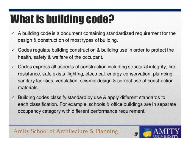 Seismic Building Codes