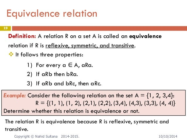 Chapter 2 Relations