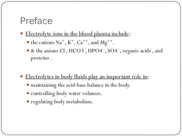 Electrolyte Solution Slide 3