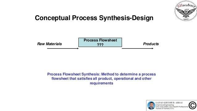 Episode 55 :  Conceptual Process Synthesis-Design Slide 2