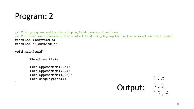 Data Structures - Lecture 7 [Linked List]