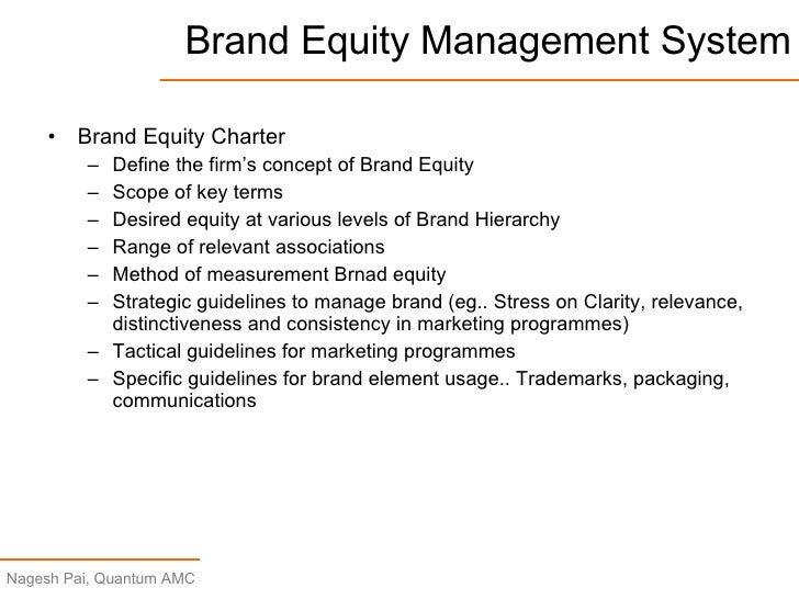 """brand equity charter In simple terms, """"brand equity"""" is a construct that is designed to reflect the real  value that a brand name holds for the products and services that."""
