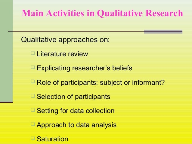 data collection in qualitative research essay Understanding the importance of collecting methods of qualitative data collection, qualitative research inherently seeking papers that have a.