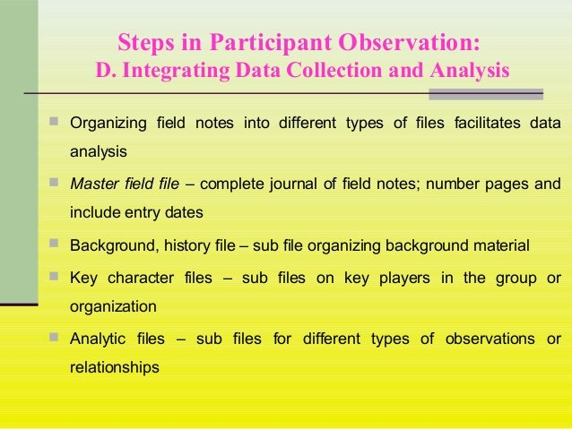 data collection in qualitative research