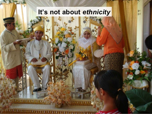 It's not about ethnicity
