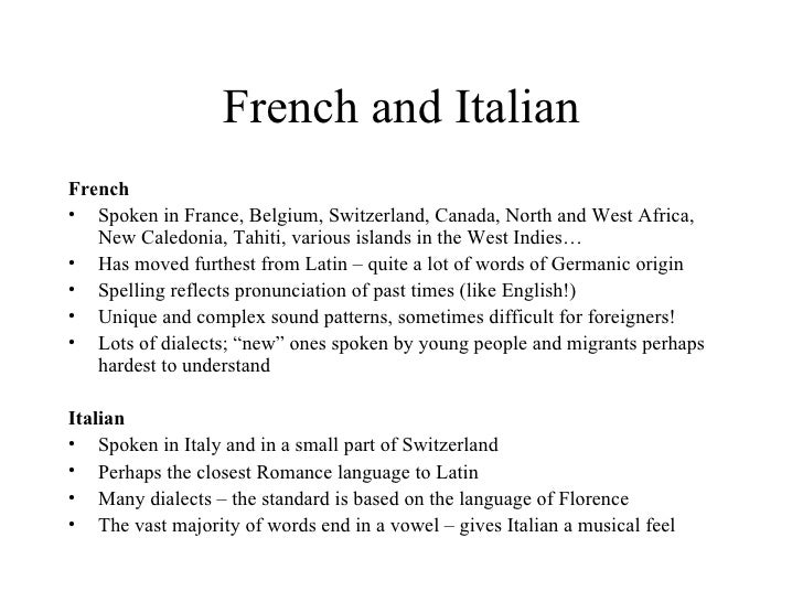 european languages history and evolution 19