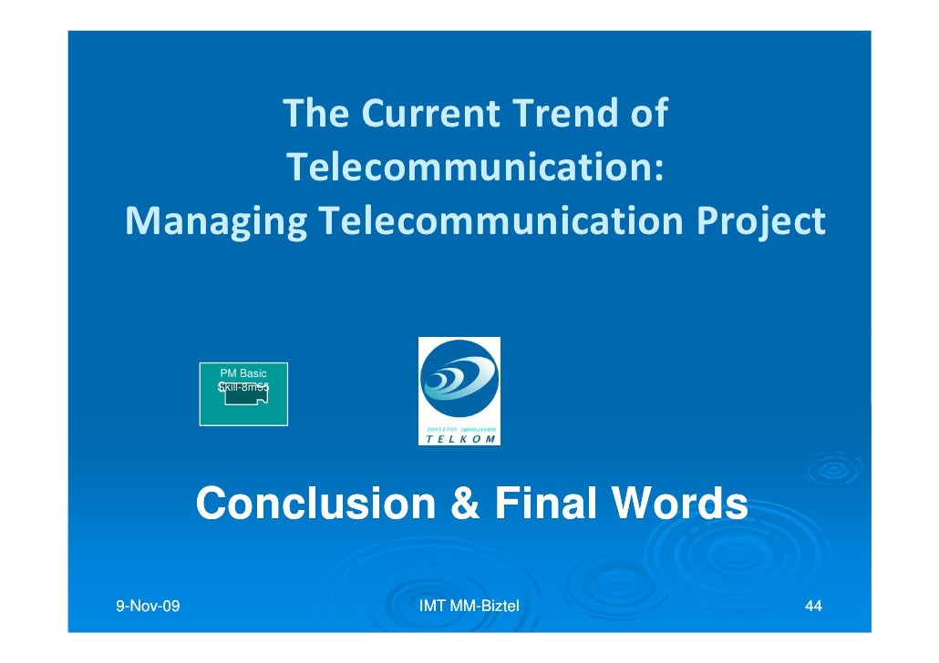 impact of telecommunication essay Understanding how the movement of thought is managed through an essay has a profound impact on its overall cogency and ability to impress.