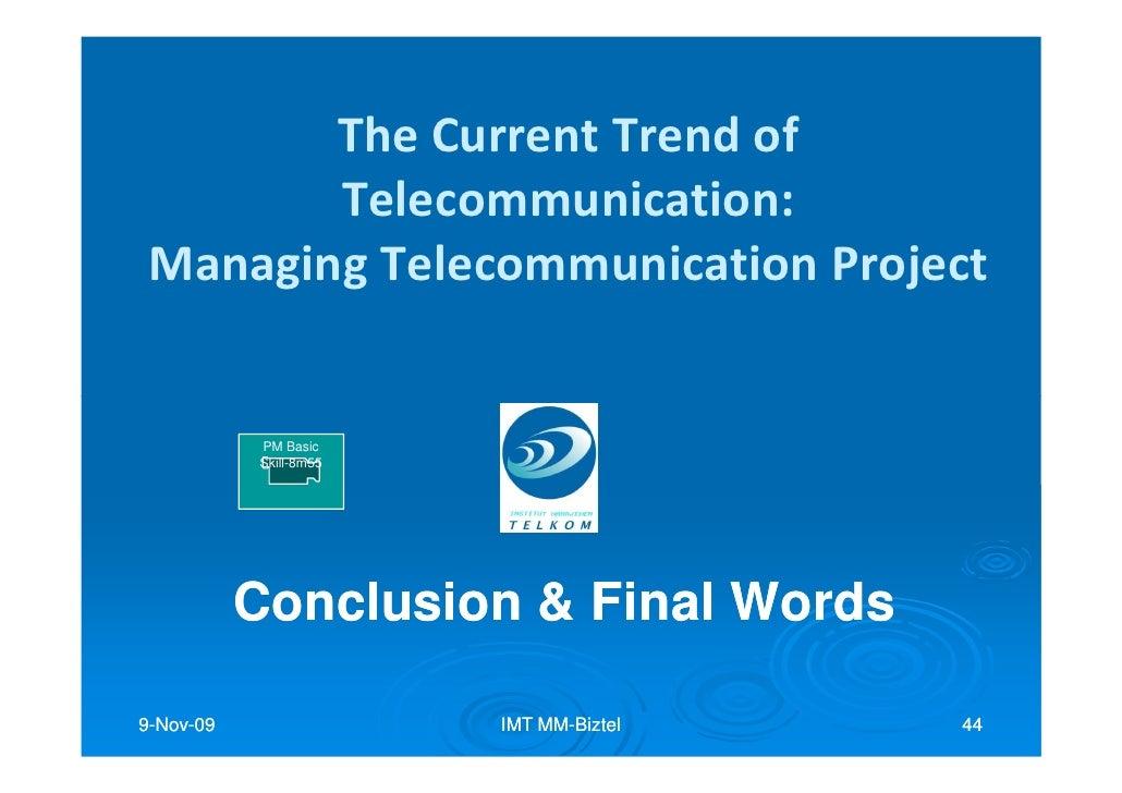 09 project conclusion