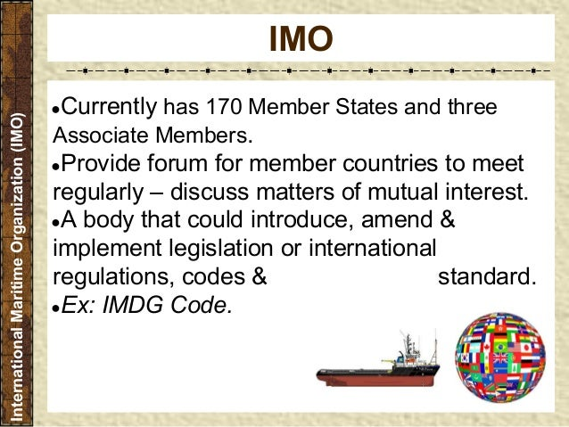 international maritime organization security standards compared to united states maritime security Imo international maritime law institute established under the auspices of the international maritime organization a specialized agency of the united nations.