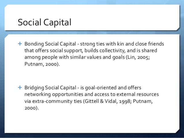 Why is social capital so important?