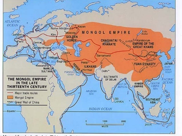 impact of the mongols The mongols, by isolating russia from the west, had a profound impact on the russian development perhaps the most fundamental consequence of the mongol rule was the divergence of russian civilization from the west.