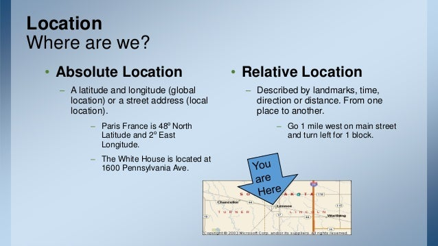 Lecture Philippine History - Jerusalem absolute location