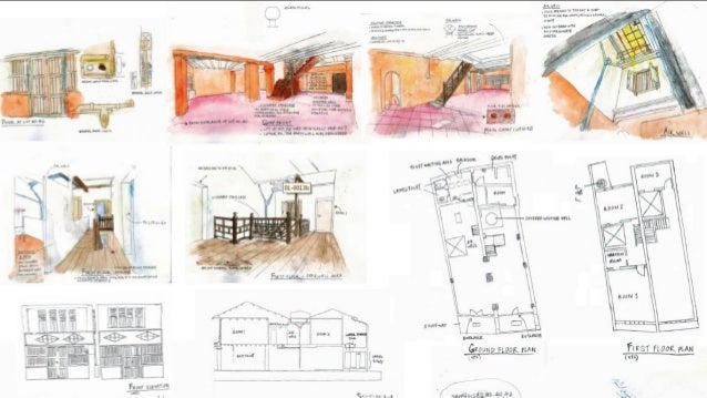 Interior Design Lectures Measure Drawing Building Study