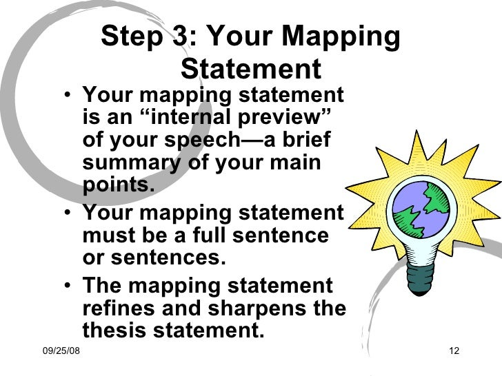 Mapping statement
