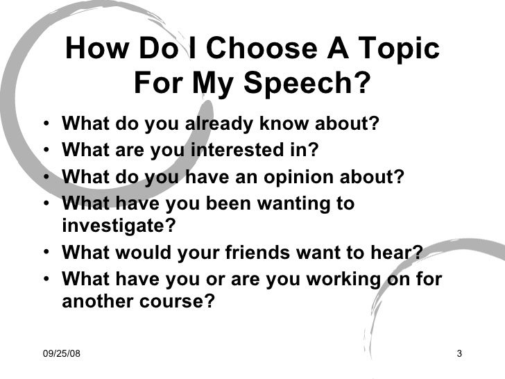 informative demonstration speech topics Informative speaking the topics covered in an informative speech should help the then you have heard a demonstration speech like most informative.