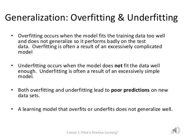 generalization machine learning